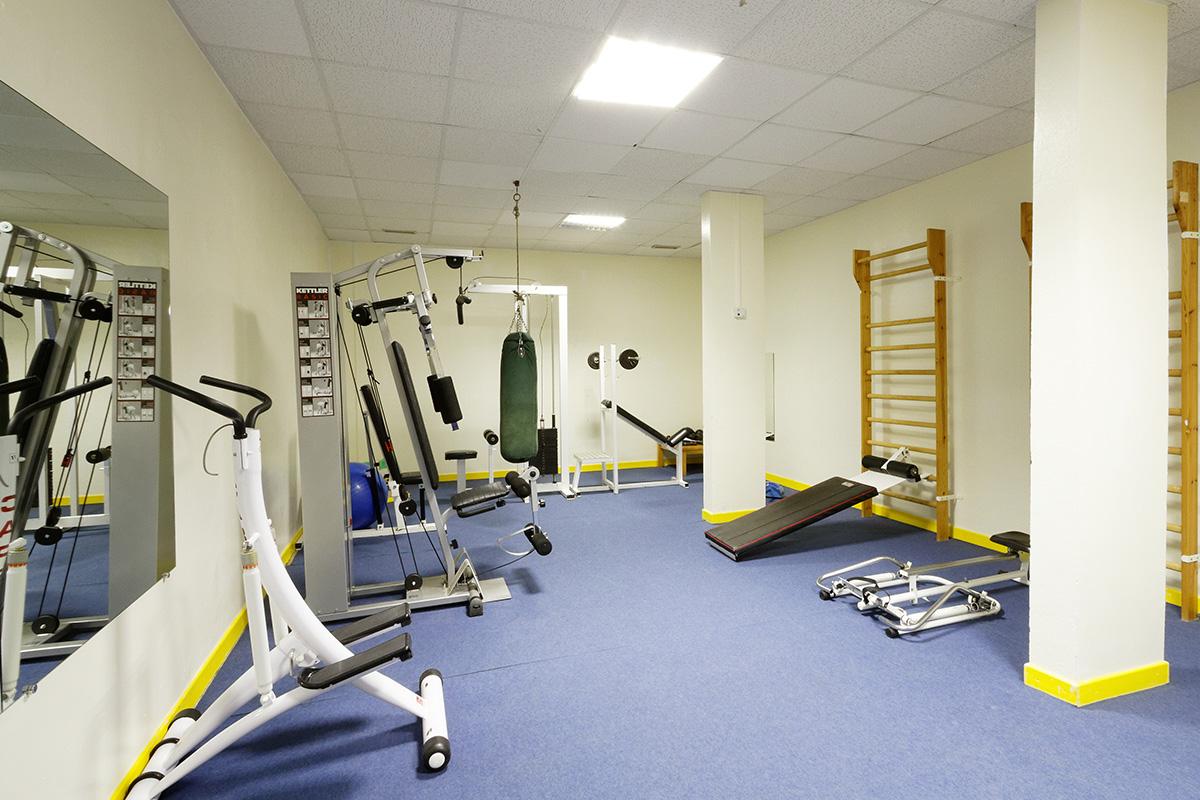 Hotel le Risoux - Salle de musculation